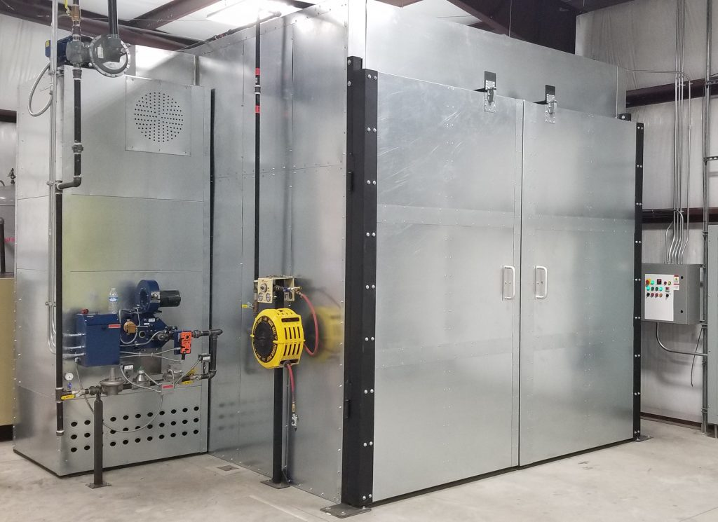 how to make a powder coating oven