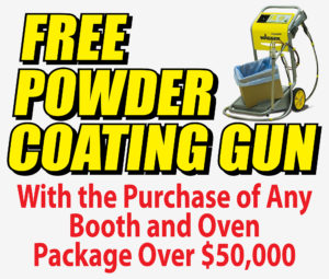 Free Powder Coating Gun with Purchase